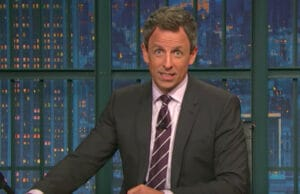 Seth Meyers on 'Late Night'