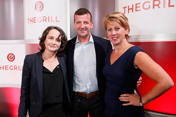 TheGrill Powerhouse Producers Panel: Nina Jacobson, Darren Throop and Sharon Waxman