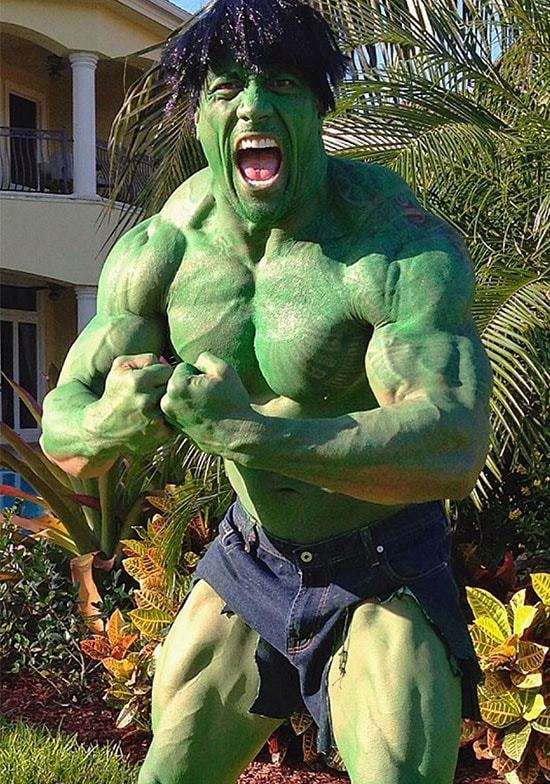 The Rock Hulk