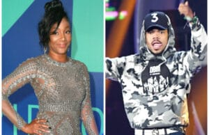 Tiffany Haddish and Chance the Rapper