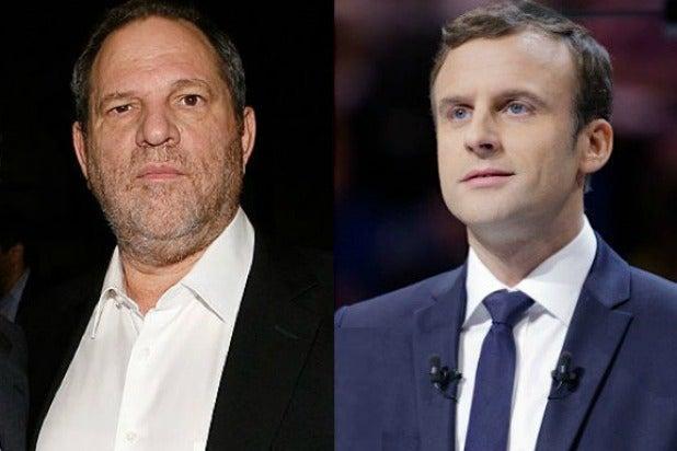Weinstein France Macron
