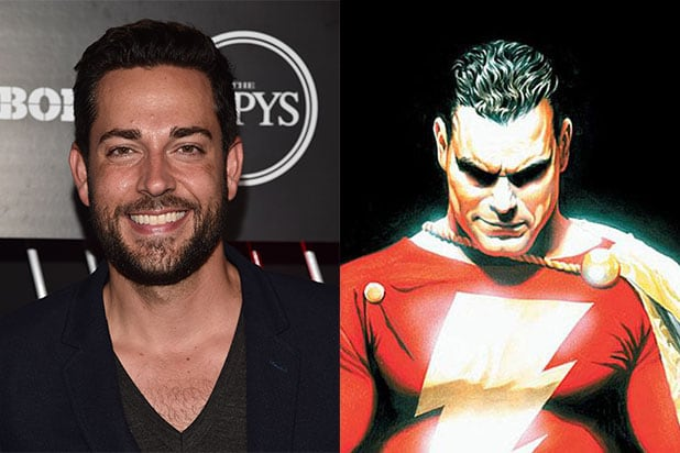 Zachary Levi to star in DC Comics' 'Shazam!' movie