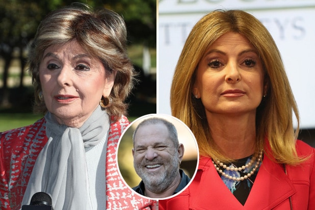 gloria allred lisa bloom harvey weinstein