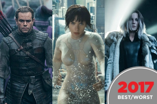 best guilty pleasure movies trash movies 2017 ghost in the shell underworld blood wars matt damon