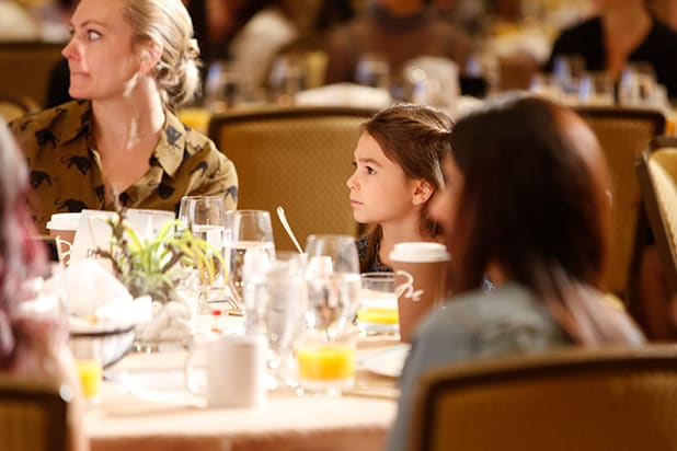 brooklynn prince Power Women Breakfast LA 2017