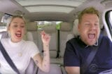 miley cyrus james corden