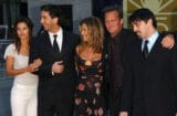 Friends reunion Courtney Cox, David Schwimmer, Jennifer Aniston, Matthew Perry, Matt LeBlanc