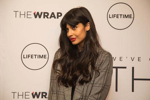 Jameela Jamil Power Women Breakfast LA 2017