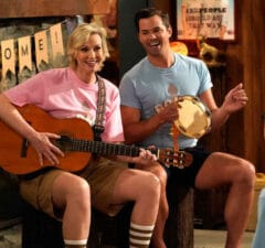 """Jane Lynch and Andrew Rannells on """"Will & Grace"""""""