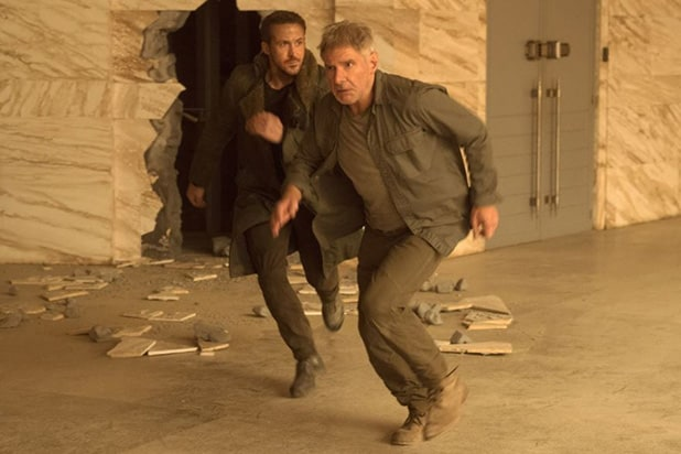 box office Ryan Gosling Harrison Ford Blade Runner 2049