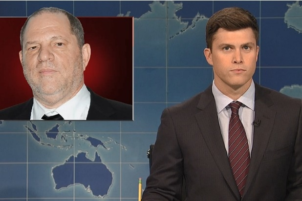 snl saturday night live weekend update harvey weinstein