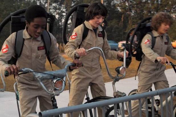 stranger things 2 80s references ghostbusters costumes