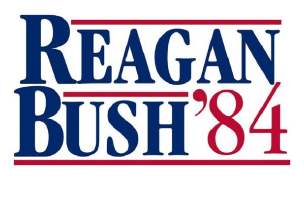 stranger things 2 80s references reagan bush 84