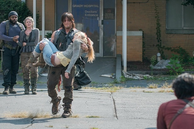 the walking dead key events beth hospital rescue death season 5