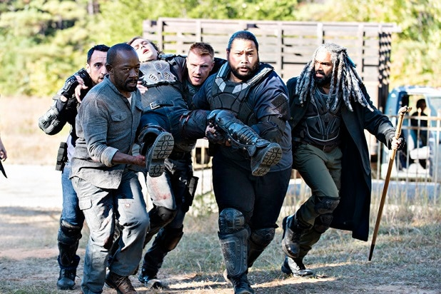 the walking dead key events ezekiel fights the saviors benjamin richard death season 7