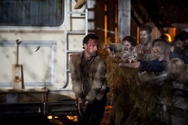 the walking dead key events leaving hershels farm season 2