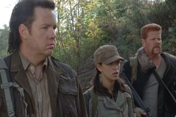 the walking dead key events meeting rosita abraham eugene season 4