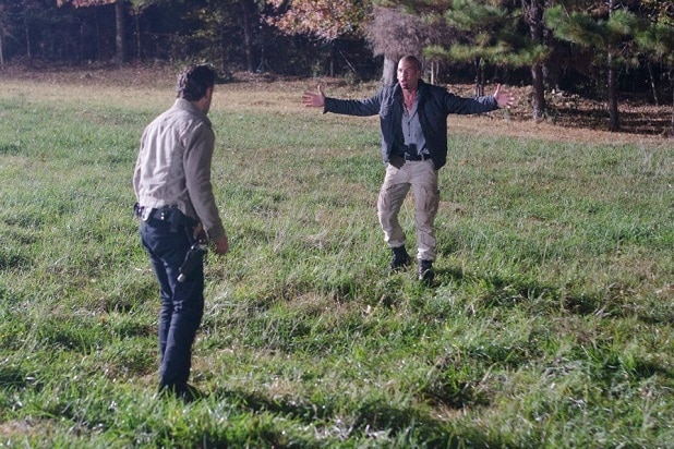 the walking dead key events rick vs shane season 2