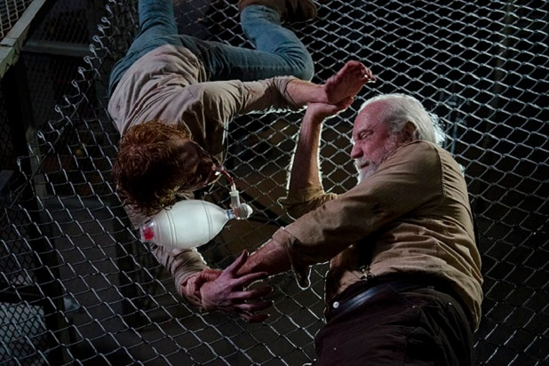 the walking dead key events sickness prison season 4