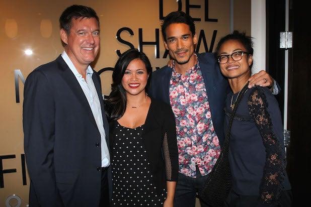 Abel Lezcano, Michelle Parel, Guest, Joanna Garel