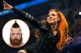 Becky Lynch and Sheamus WWE