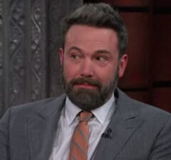 Ben Affleck on 'The Late Show'