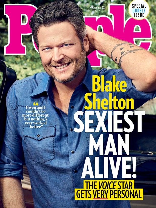 Blake Shelton sexiest man alive