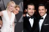 Emma Stone, Jennifer Lawrence, Jake Gyllenhaal, and James Franco highlighting the early awards season celebrations. (AMPAS)