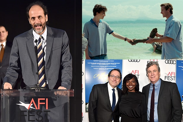 "The coming of age love story ""Call Me By Your Name"" screened at AFI Fest presented by Audi on Friday night, November 10. (Getty Images)"