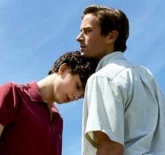 Call Me By Your Name Timothée Chalamet Armie Hammer