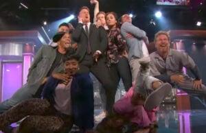 Channing Tatum hosts 'Jimmy Kimmel Live'
