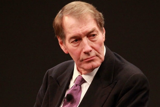 CBS Fires Charlie Rose for 'Extremely Disturbing and Intolerable' Behavior