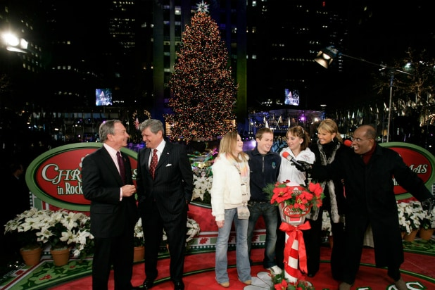 Christmas in Rockefeller Center. NBC. NBC's tree-lighting ... - Matt Lauer-Less Christmas Tree Lighting Is Wednesday's Top Show