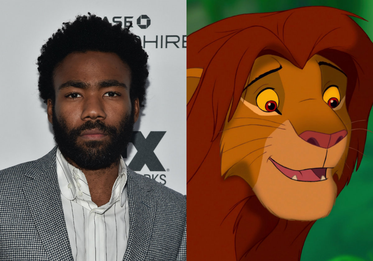 Donald Glover Simba The Lion King
