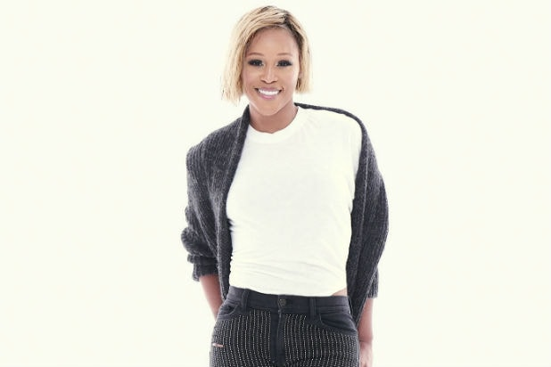 "Rapper Eve on CBS' ""The Talk"""