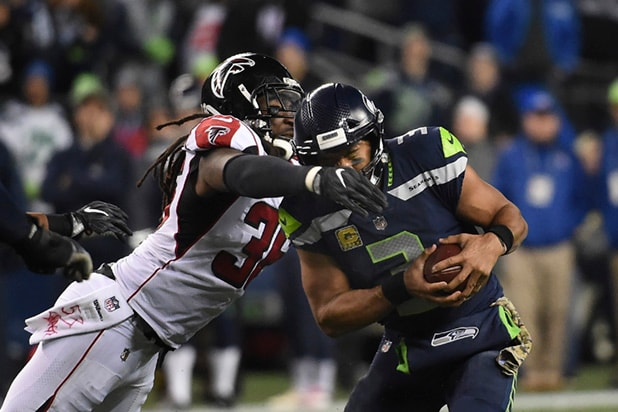 Atlanta Falcons vs?Seattle Seahawks
