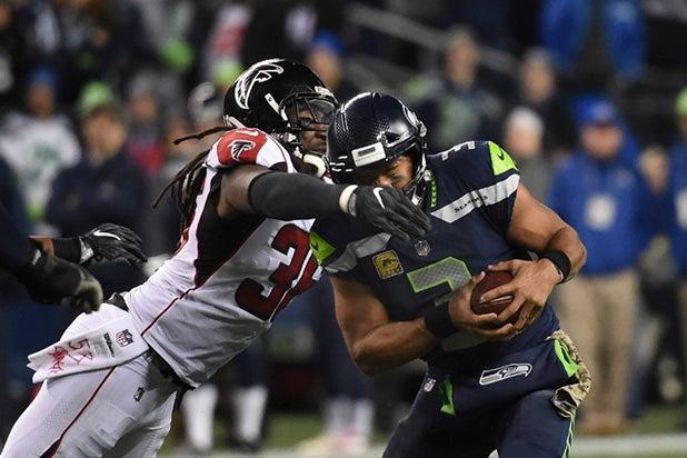 Atlanta Falcons vs?Seattle Seahawks