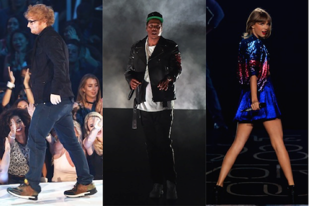 Grammy Nominations Snubs and Surprises, From Jay-Z to Ed Sheeran (Photos)