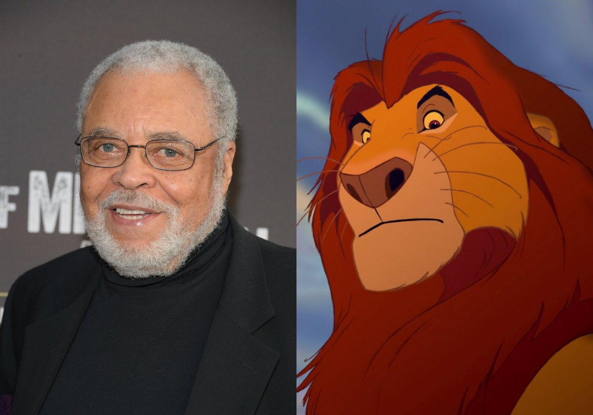 James Earl Jones Mufasa The Lion King