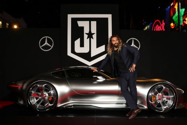 Jason Momoa Mercedes Justice League