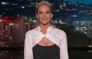 Jennifer Lawrence guest-hosts 'Jimmy Kimmel Live'