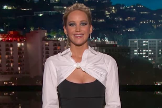 Jennifer Lawrence guest-hosts 'Jimmy Kimmel Live'