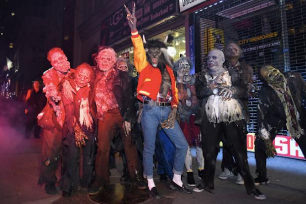Heidi Klum Thrills in Epic Michael Jackson Halloween Costume