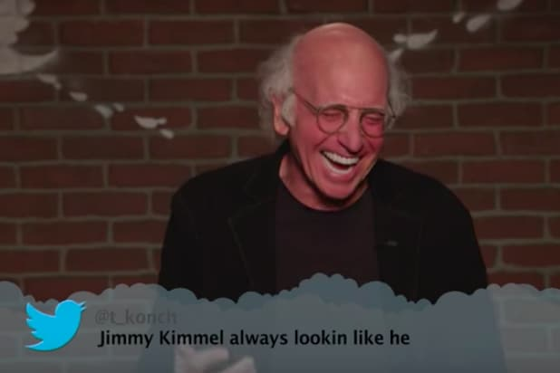 Larry David Losing It In These Mean Tweets Outtakes Will Make Your Day