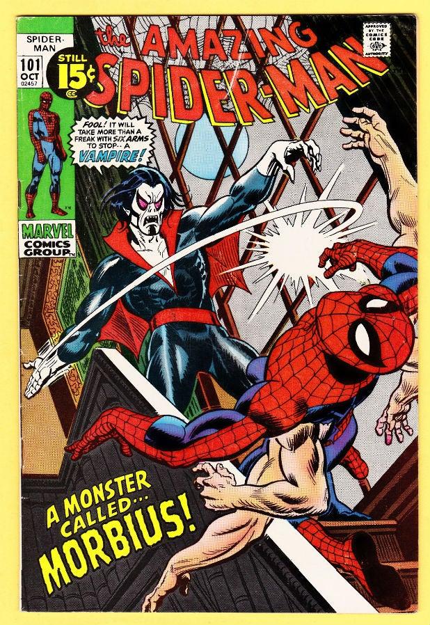 Morbius Sony Marvel Vampie
