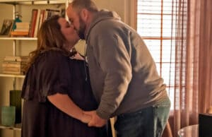 "Kate (Chrissy Metz) and Toby (Chris Sullivan) on ""This Is Us"" Season 2"