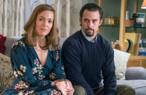 "Mandy Moore (Rebecca) and Milo Ventimiglia (Jack) on ""This Is Us"" Season 2"