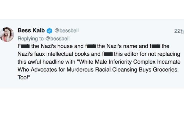 New York Times Neo-Nazi story