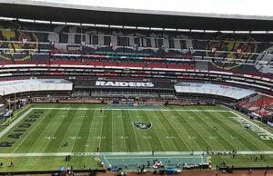 Patriots Raiders field