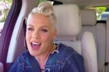 Pink on 'Carpool Karaoke'